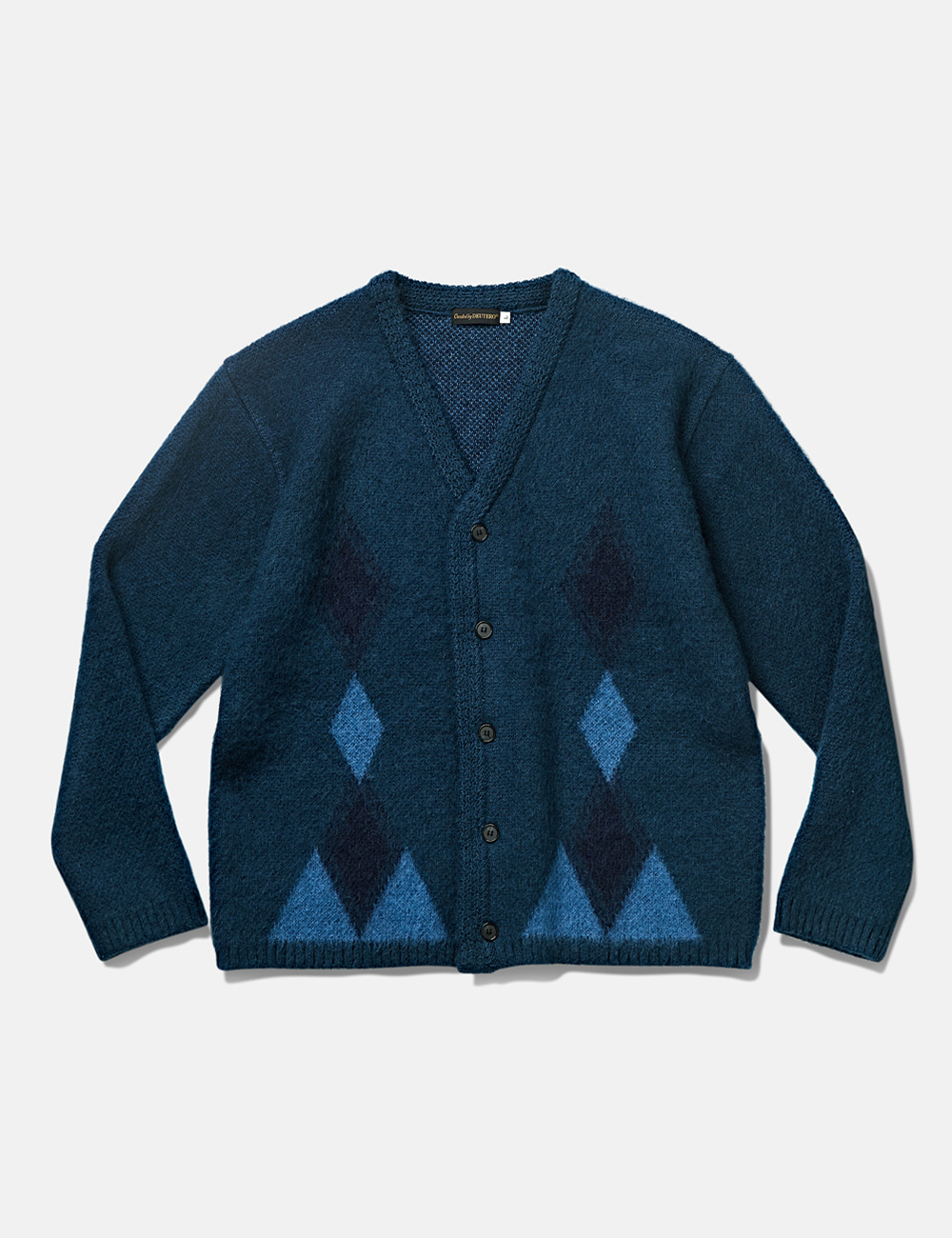 [DEUTERO] DTR1943 Past Mohair Cardigan Vintage Blue