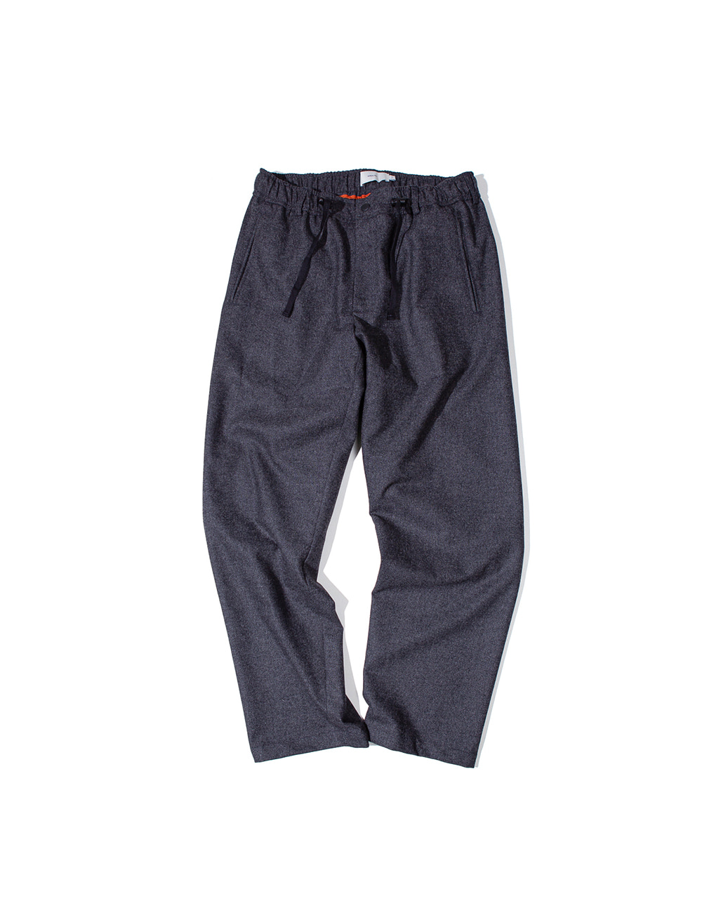 [Ourselves] FINE WOOL WIDE SLUMBER PANTS (Charcoal)