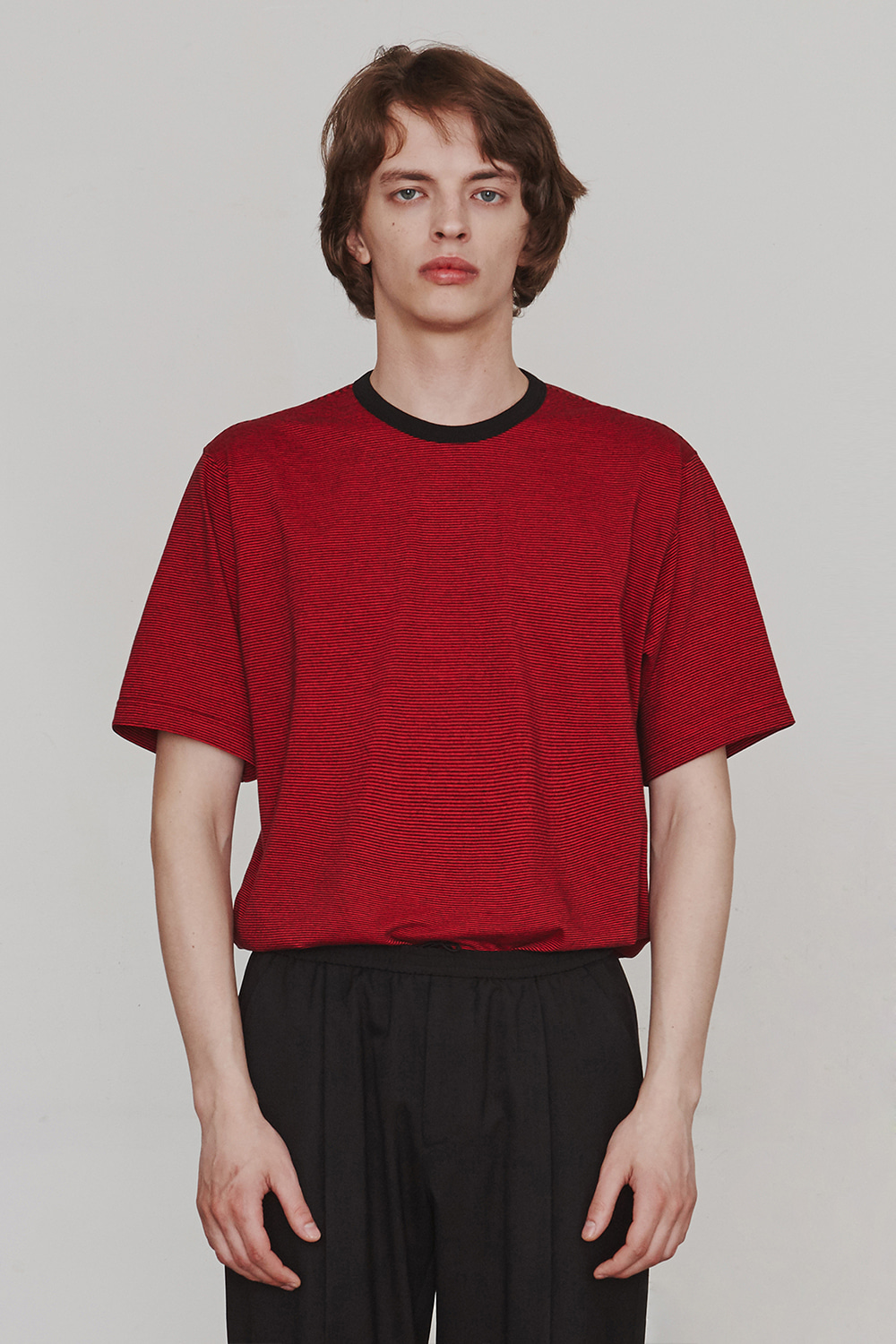 [ESFAI] B.R.B T Shirt (Red)