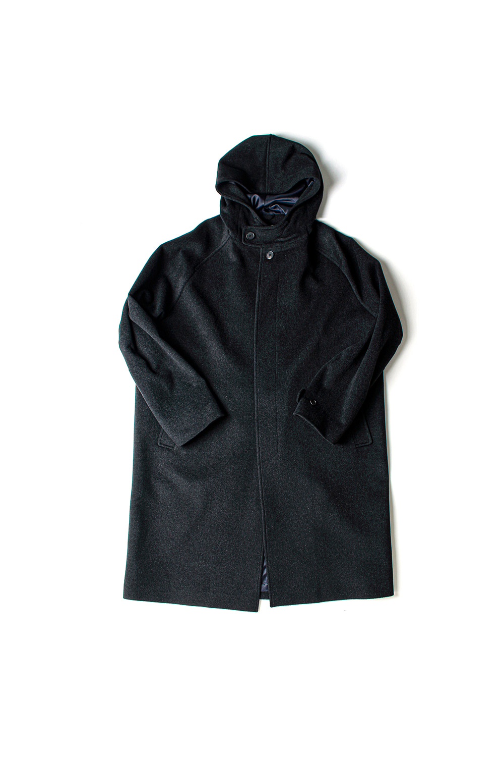 [Ourselves] WOOLCASH HOODED COAT (CH)