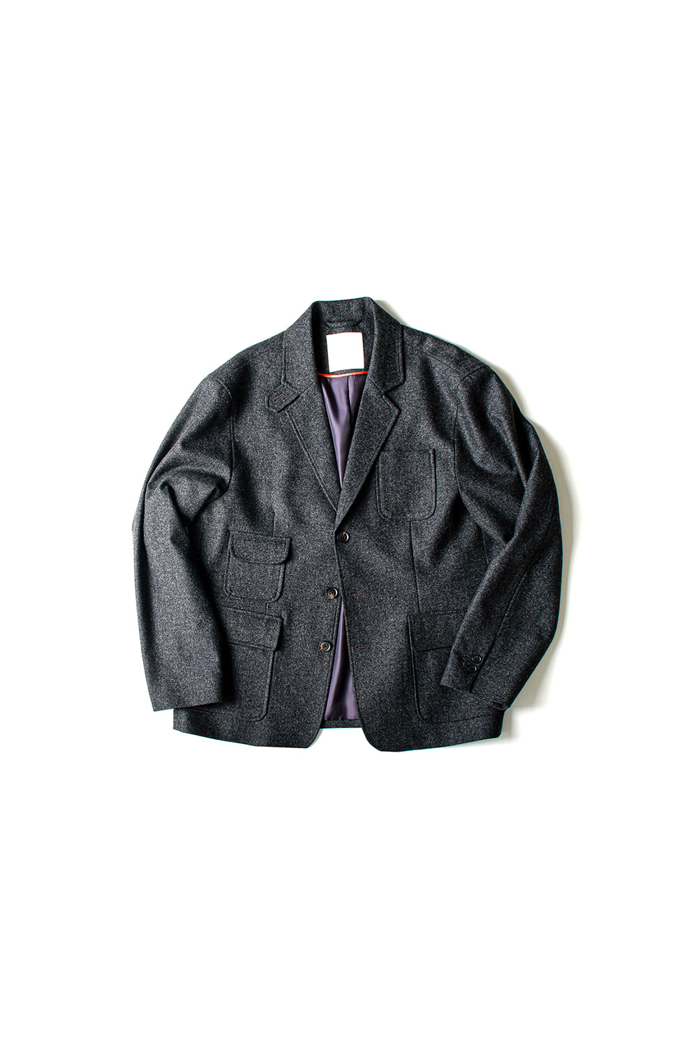 [Ourselves] FINE WOOL SLUMBER JACKET (CH)