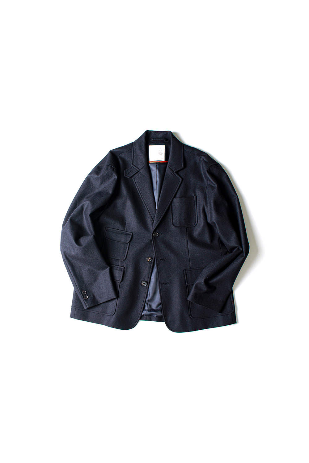 [Ourselves] FINE WOOL SLUMBER JACKET (NV)