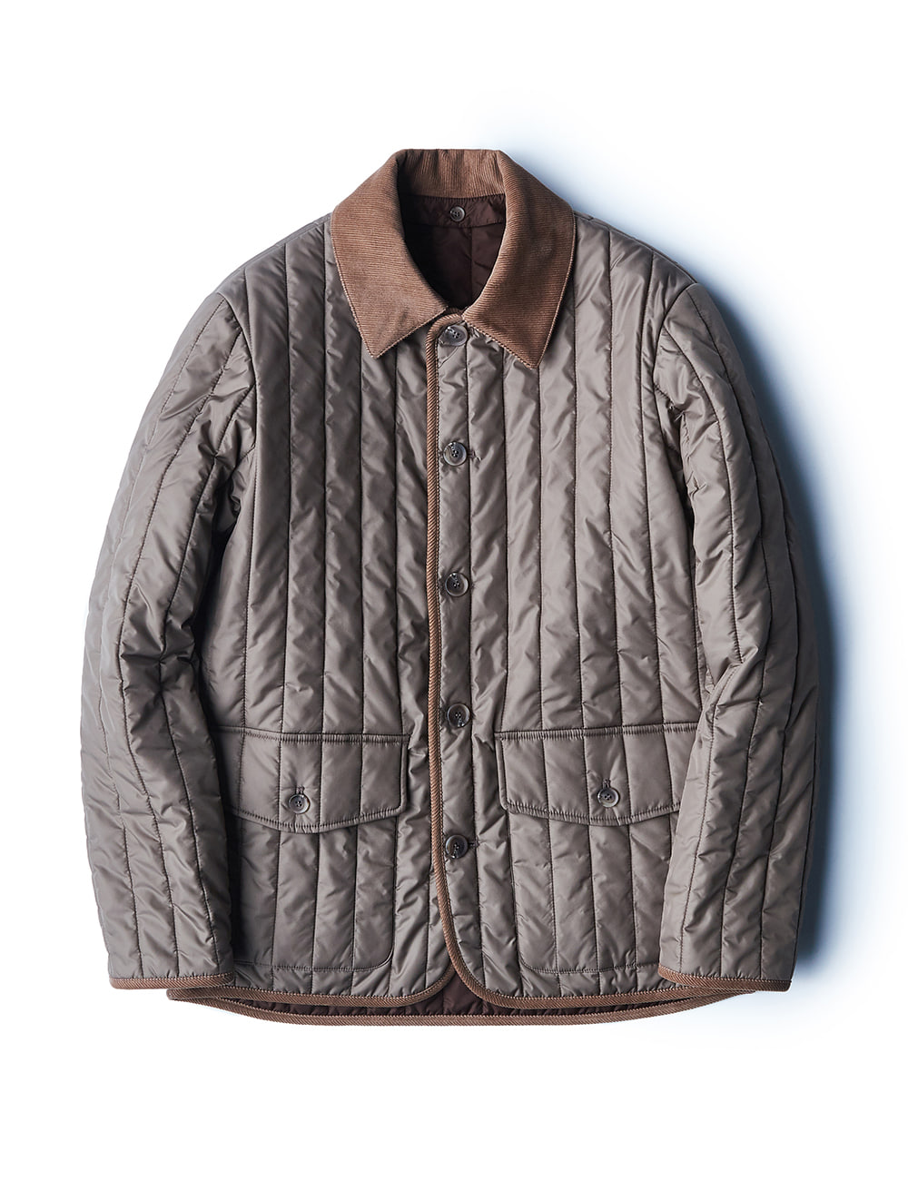 [ESFAI] fd09 Quilted Jacket (Beige)