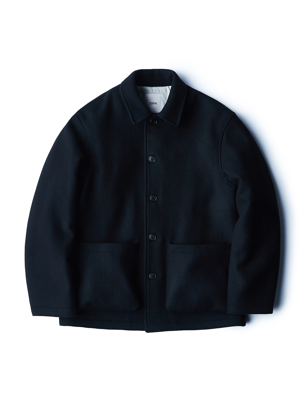 [ESFAI] fn21 Wool Jacket (Black)