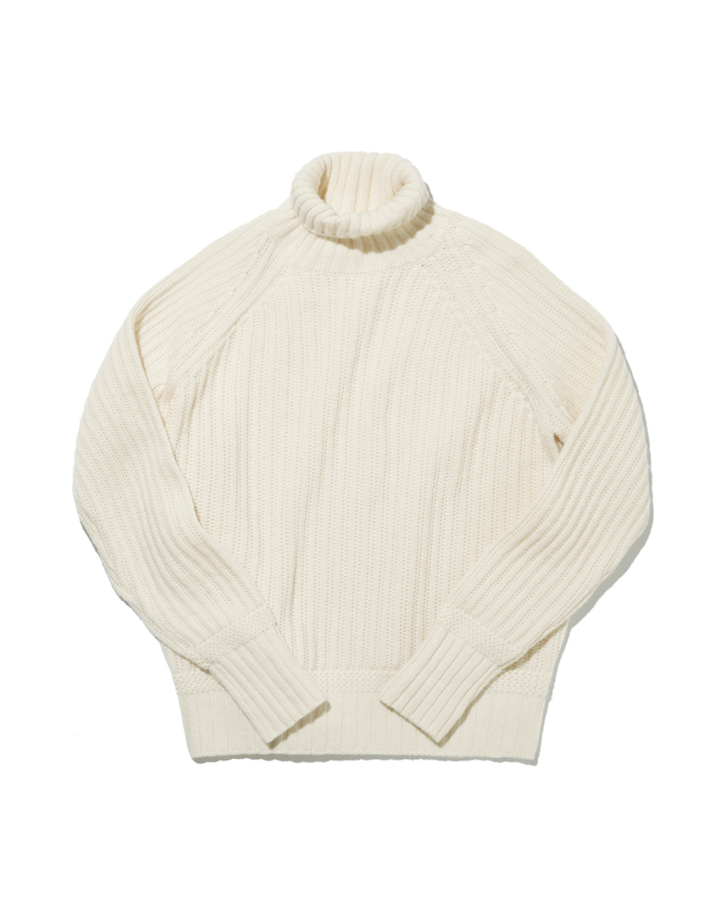[ESFAI with AMFEAST] FISHERMAN Sweater (Ivory)