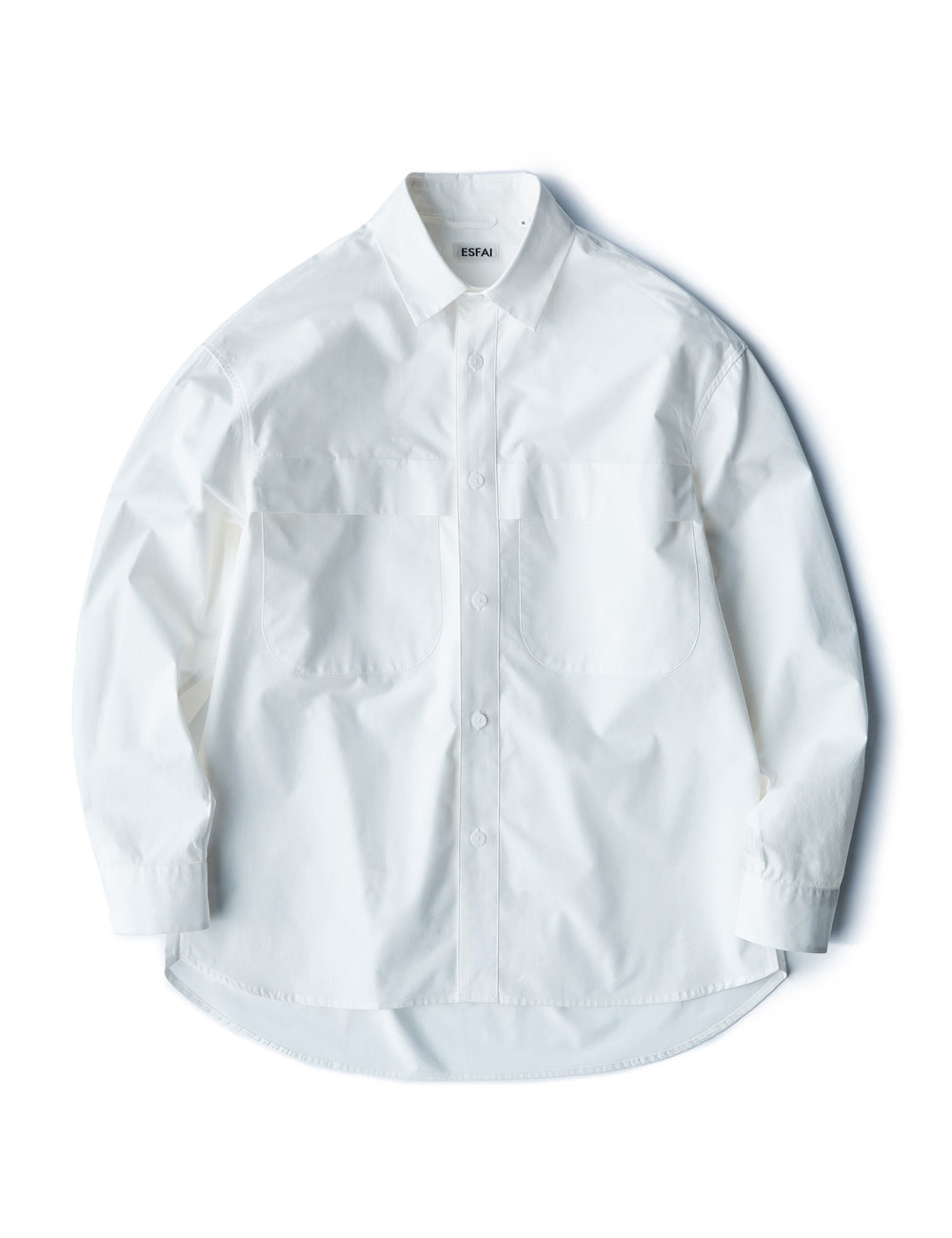 [ESFAI] sd29 drop shoulder shirts (White)
