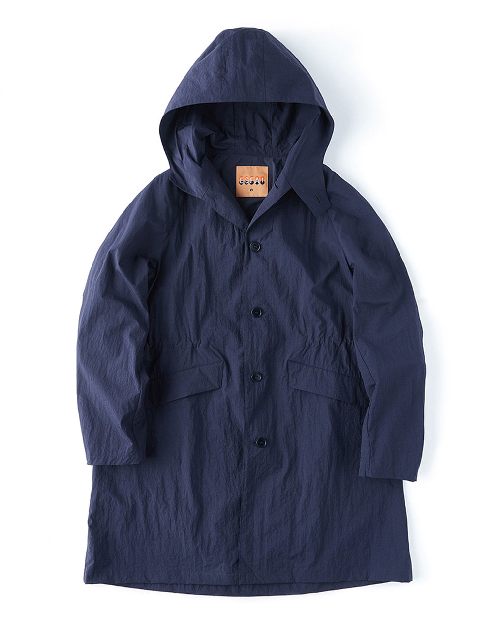 r28  hylon over coat (Navy)
