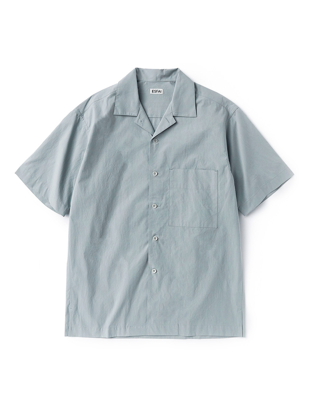 [ESFAI] sue02 summer standard shirts (Blue Gray)