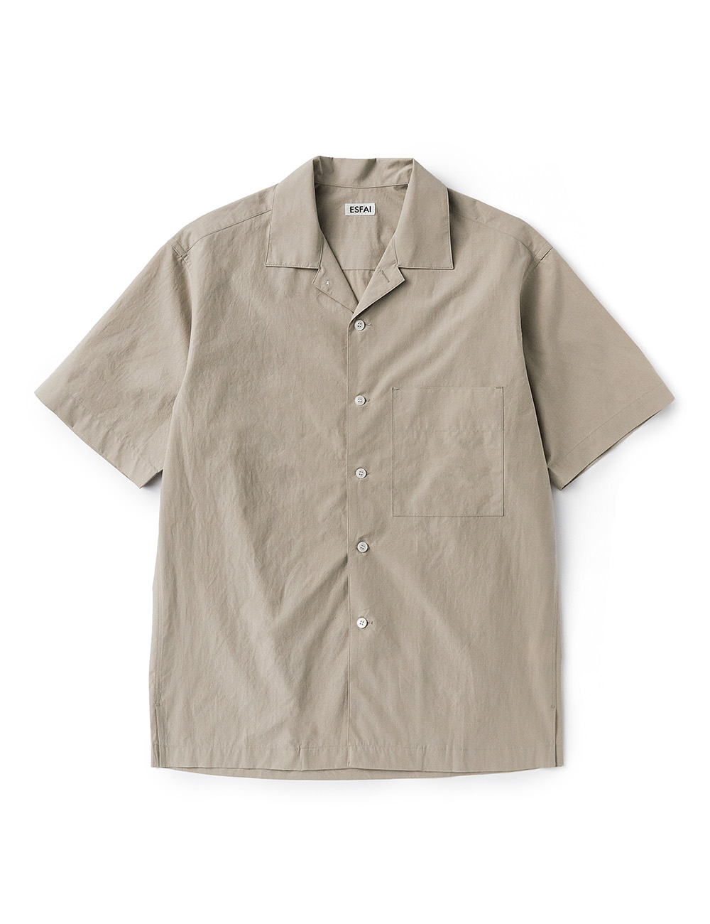 [ESFAI] sue02 summer standard shirts (Light Beige)