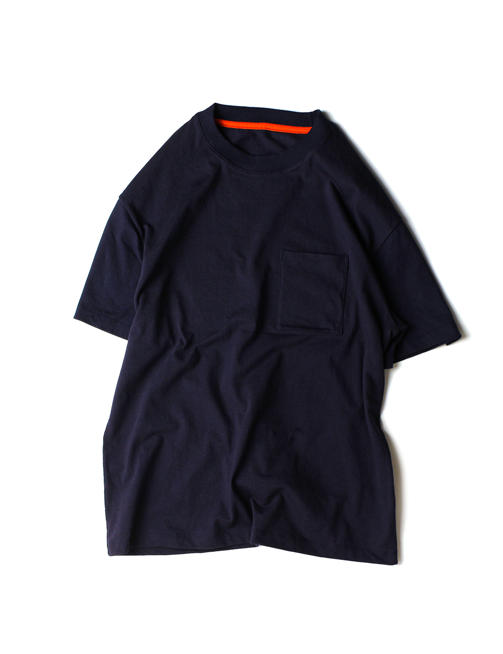 [Ourselves] [S/C#2] NONE CARE T-SHIRTS (Navy)