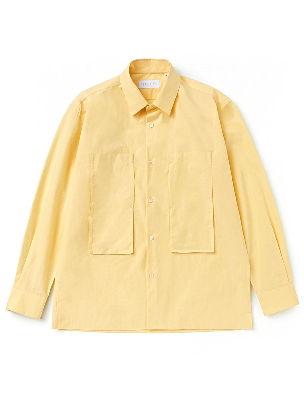 [DGRE] CHART UTILITY SHIRTS YELLOW