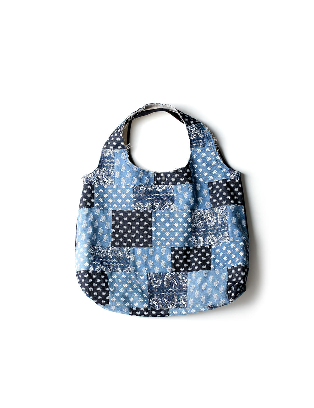[Ourselves] [S/C#3] PATCHWORK DENIM VACANCE BAG