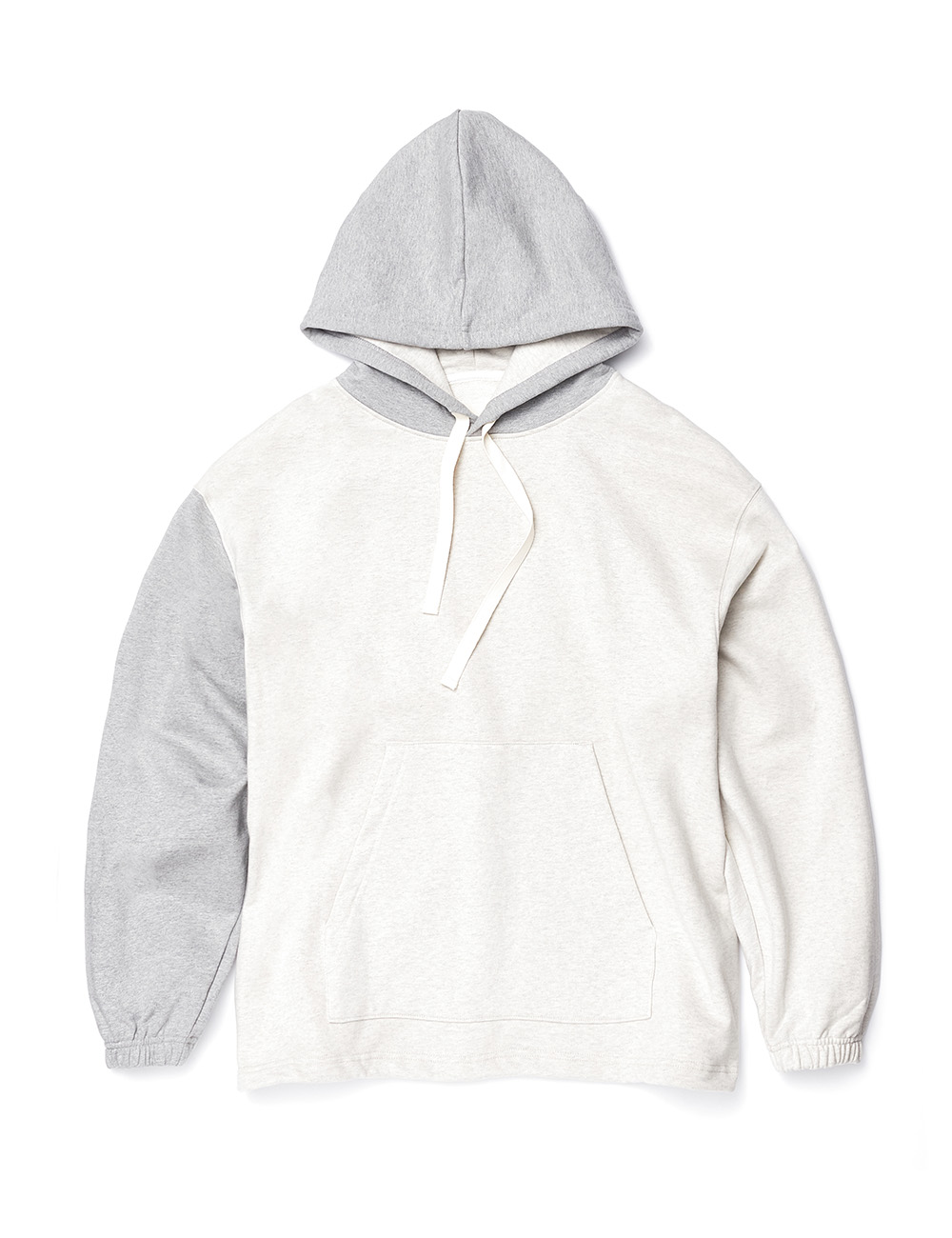 [ESFAI X OURSELVES] CONNECTION HOODIE (Oatmeal / Grey)