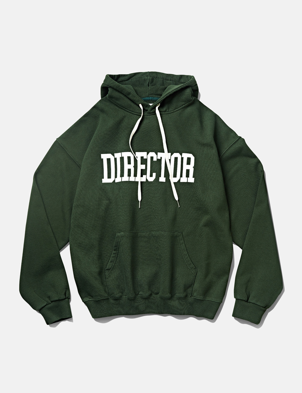 [DEUTERO] DTR1951 DTRO+AFST Director Hoodie Forest Green