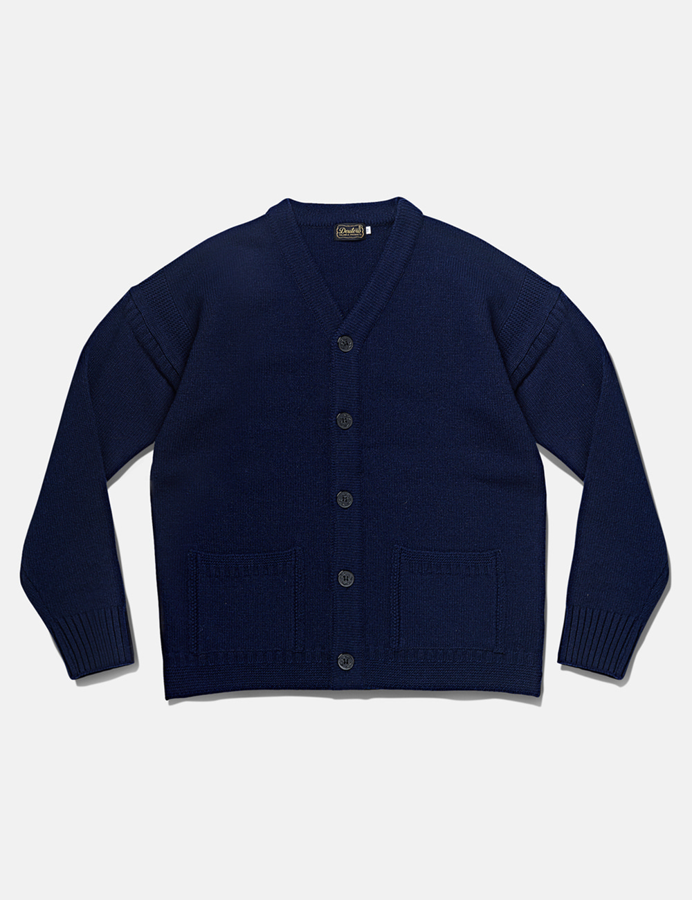 [DEUTERO] DTR1944 University Cardigan Navy