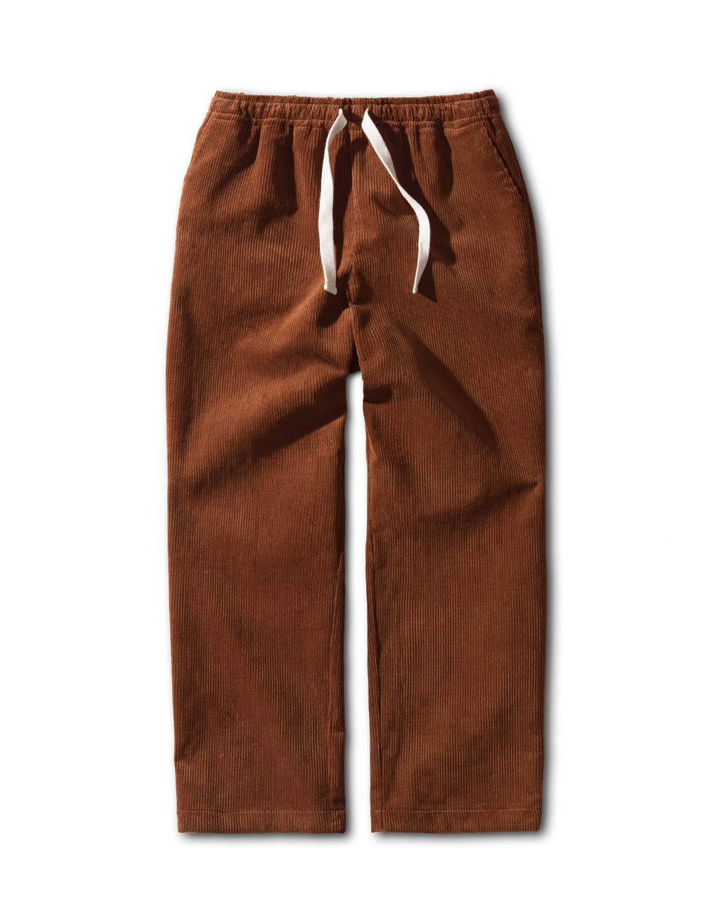 [ESFAI] SN10 CORDUROY SET UP PANTS (BROWN)