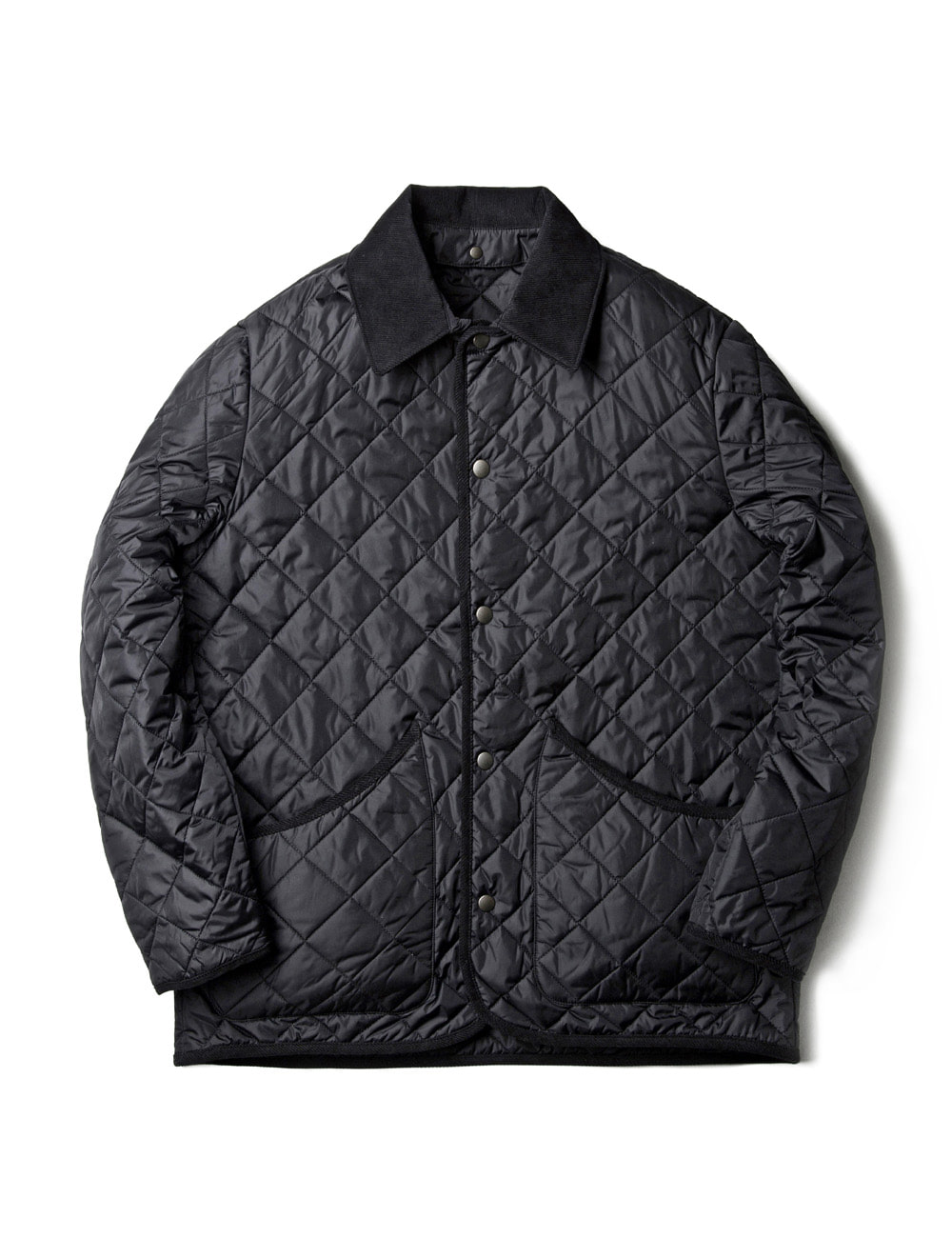 [ESFAI] VOL 3. SN26 DIAMOND QUILTED JACKET (BLACK)