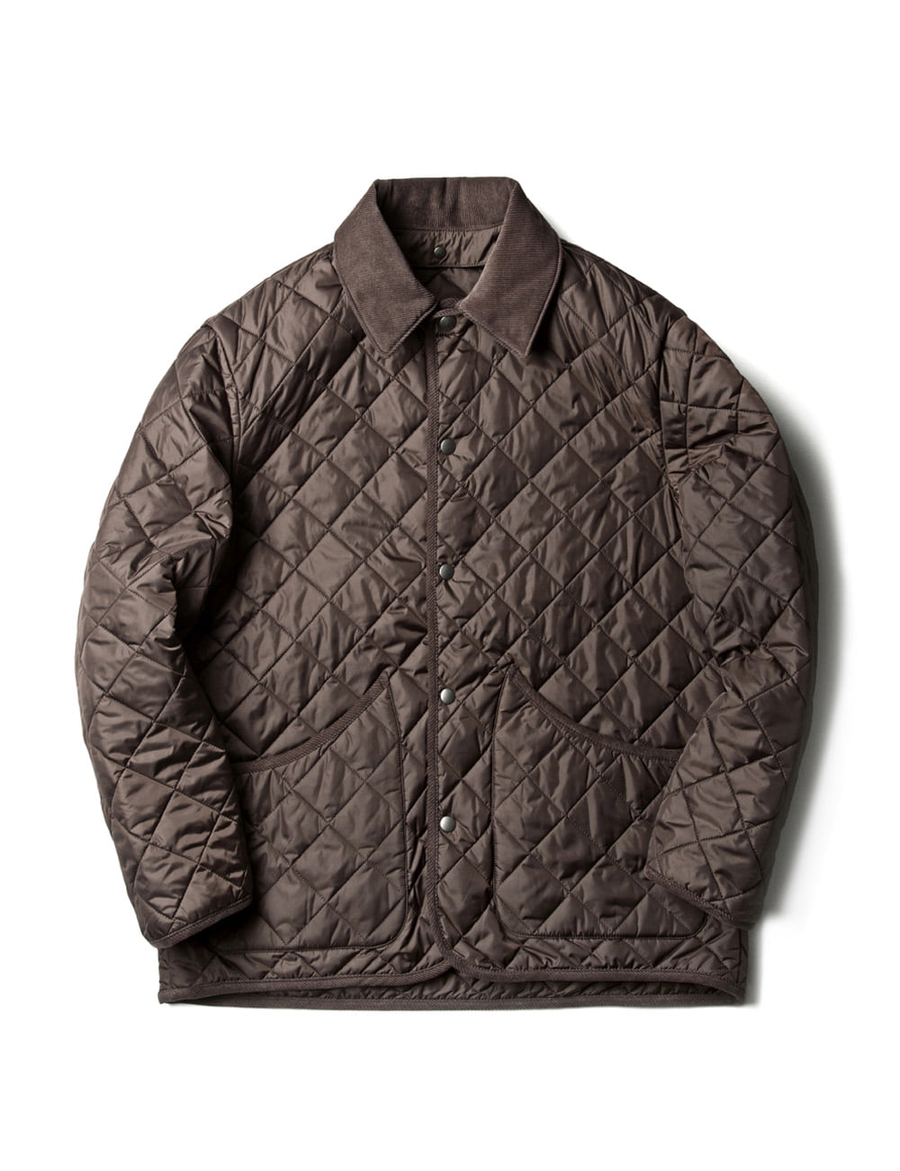 *RESTOCK [ESFAI] VOL 3. SN26 DIAMOND QUILTED JACKET (BROWN)