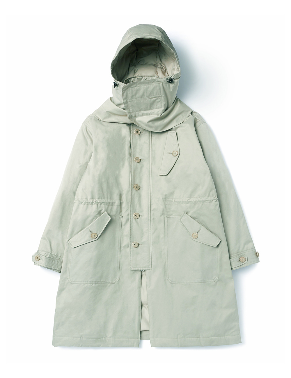 [DGRE] R.A.F COLD WEATHER DOWN PARKA (SAGE)