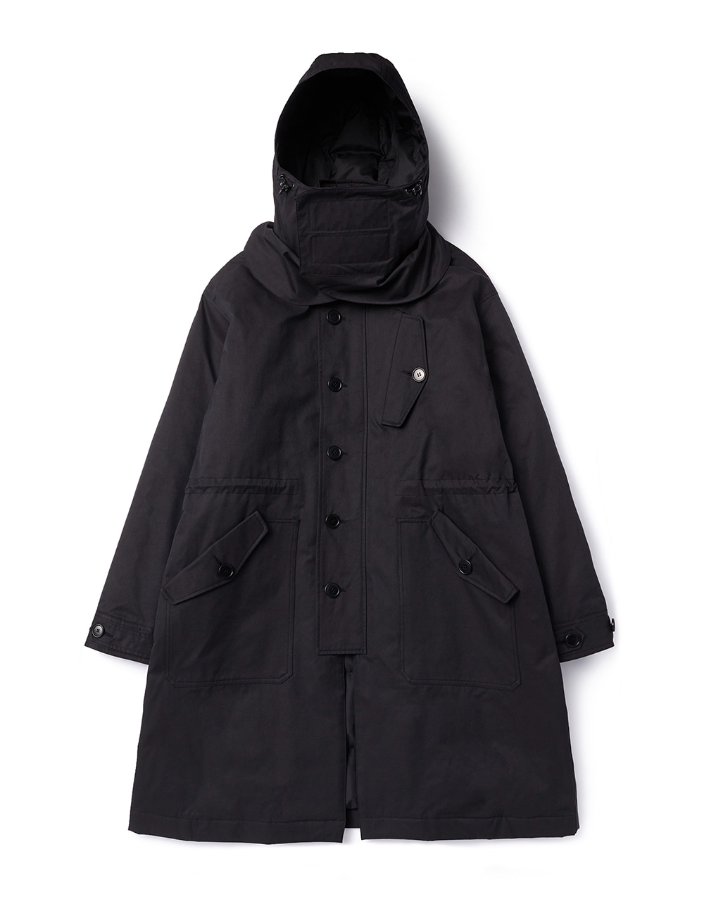 [DGRE] R.A.F COLD WEATHER DOWN PARKA (BLACK)
